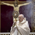 POPE'S MESSAGE | 'Wrestling with God' is a metaphor for prayer