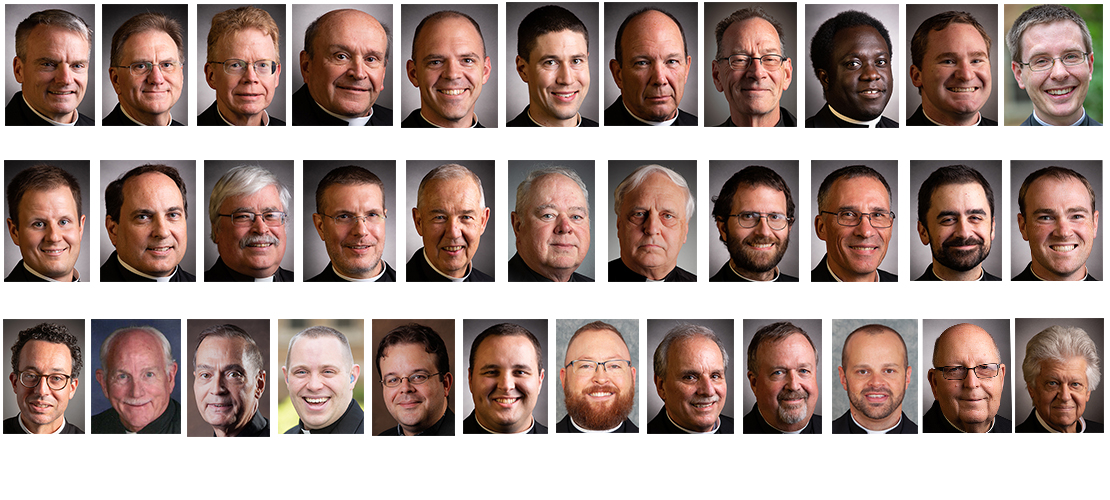 Priest appointments for summer 2020