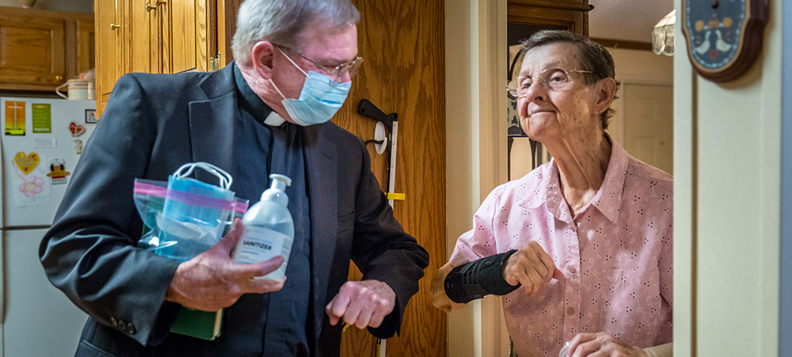 Visits to bring Communion to homebound people have impact