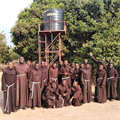 Support flows for Franciscan water projects in Congo