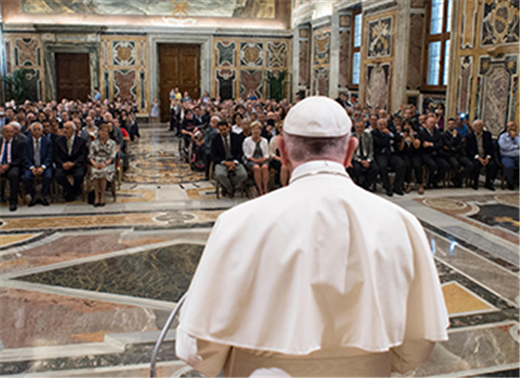 POPE'S MESSAGE | Ten Commandments are God's loving words, not oppressive commands