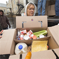 'Heavenly' volunteers help with food box distribution at St. Joseph in Zell