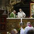 POPE'S MESSAGE | In dark times of faith, those who pray are never alone