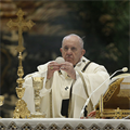 POPE'S MESSAGE | Liturgy is a prayer which facilitates encounter with Christ