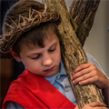Jesus' Passion comes to life for students in Bloomsdale