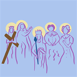 Saintly mothers and mothers of saints are examples of love for God and their children created in His image and likeness