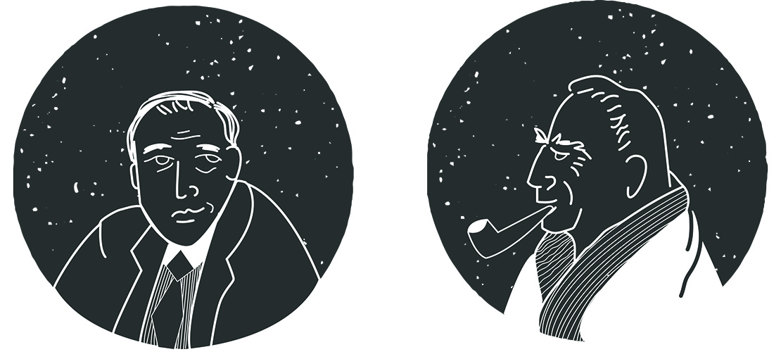 J.R.R. Tolkien and C.S. Lewis