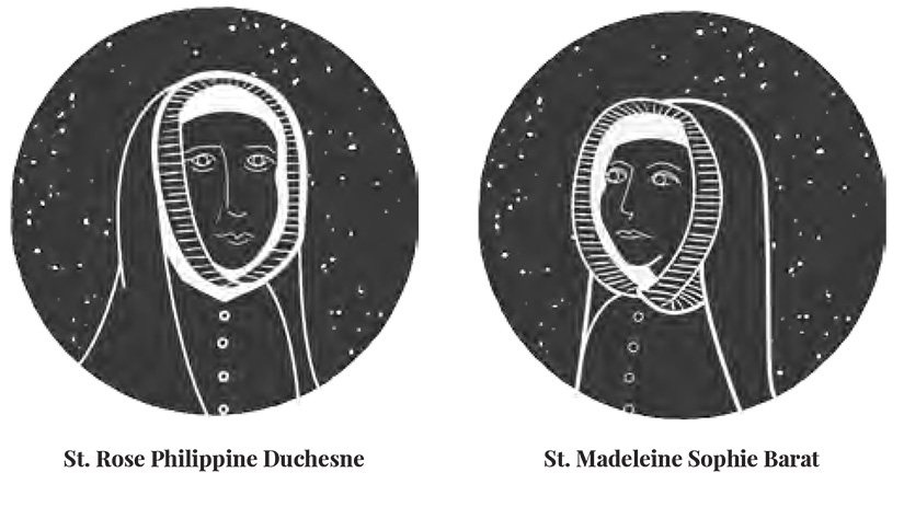St. Rose Philippine Duchesne and St. Madeleine Sophie Barat