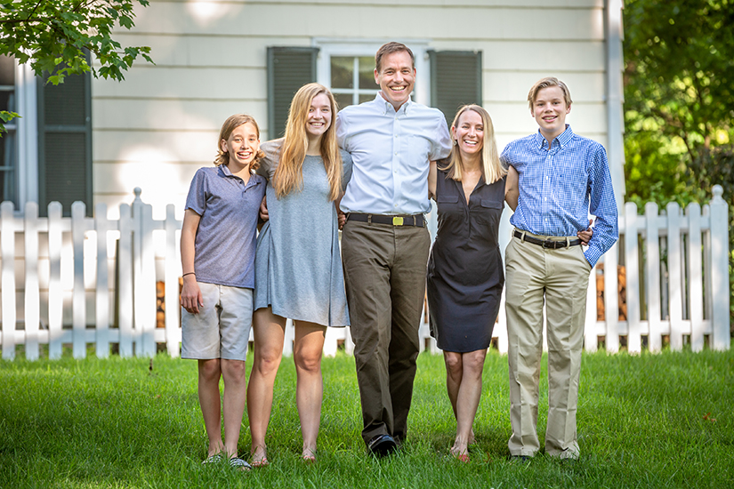 The Mueller family of Holy Redeemer Parish in Webster Groves