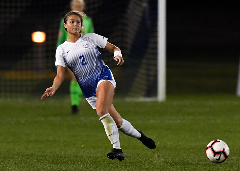 Saint Louis University soccer player Alli Klug is one of 10 finalists for the 2019 Senior CLASS Award in NCAA women's soccer. The award recognizes candidates who best exemplify the four Cs of community, classroom, character and competition.