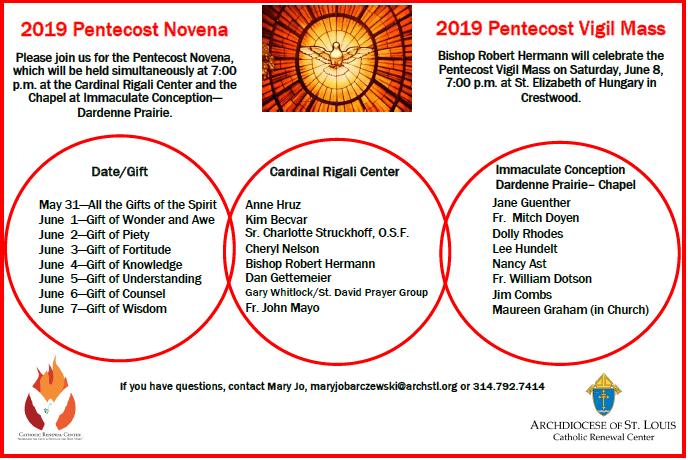 Pentecost Novena Pic2